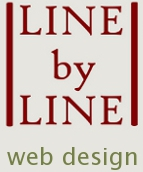 Line by Line web design logo