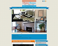 Chaney Homes website snapshot
