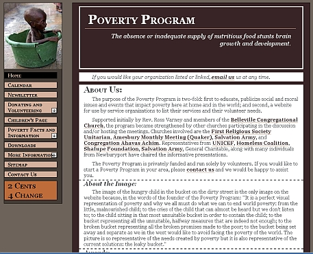 Poverty Program.com original design